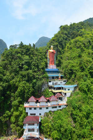 lamaism: Perak Tambun Tibetian Temple, also known as Jingang Jing She by the locals, is surrounded by magnificent perimeters of luscious valleys, orchards and limestone hills