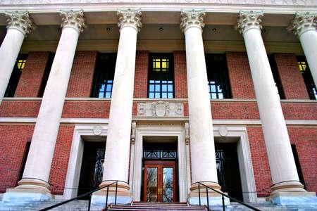 harvard university: Widener Memorial Library at Harvard University, Cambridge, Massachusetts Editorial