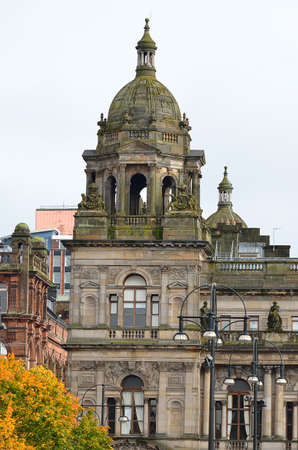 chambers: City Chambers in George Square, Glasgow, Scotland