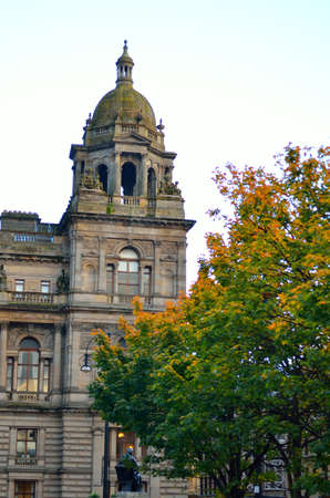 glasgow: City Chambers in George Square, Glasgow, Scotland