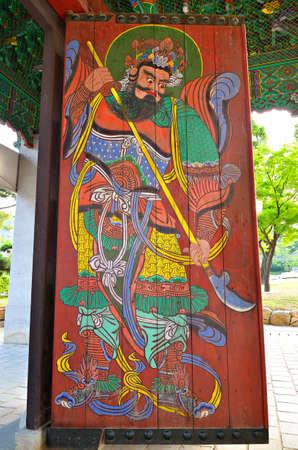 gangnam: Bongeunsa Temple in the Gangnam District of Seoul, Korea