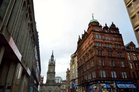 stock image: Stock image of Glasgow, Scotland Editorial