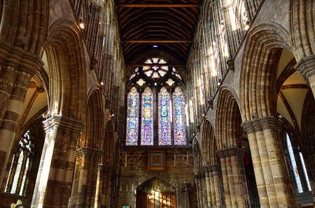 Glasgow cathedral aka High Kirk of Glasgow or St Kentigern or St Mungo Editöryel