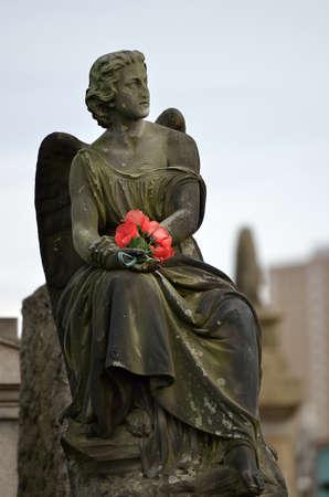 necropolis: The Glasgow Necropolis, Victorian gothic cemetery, Scotland, UK