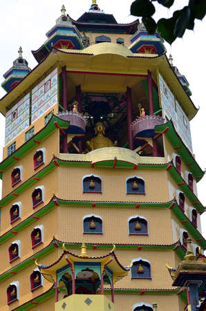 lamaism: Enlightened Heart Tibetan Temple, Perak, Malaysia Editorial