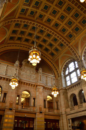 kelvin: The Kelvingrove art gallery and museum, Glasgow, Scotland Editorial