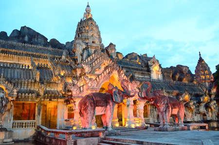 Palace of the elephants, Phuket, Thailand Editorial