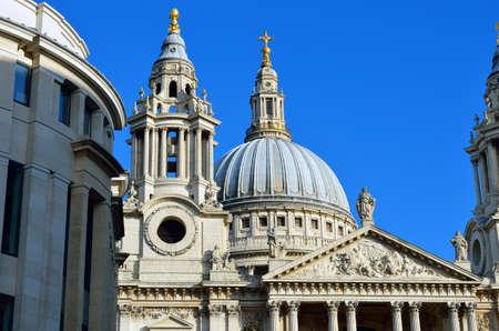 st pauls: St. Pauls Cathedral church, London, UK