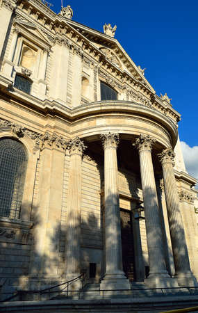 st pauls cathedral: St. Pauls Cathedral church, London, UK