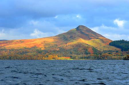 trossachs national park: Stock image of Loch Lomond, Scotland Stock Photo