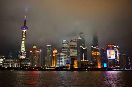 huangpu: Stock image of Shanghai skyline, China