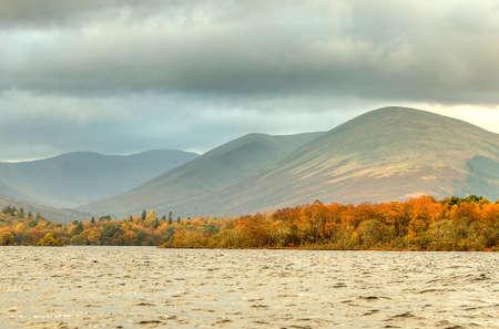 loch lomond: Stock image of Loch Lomond, Scotland Editorial