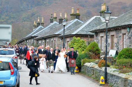 trossachs national park: Stock image of Loch Lomond, Scotland Editorial