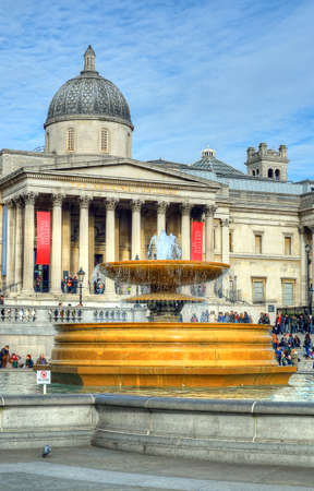 trafalgar: Trafalgar Square is a public space and tourist attraction in central London. Editorial