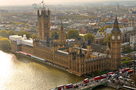 houses of parliament: Big Ben and Houses of Parliament, London, UK Editorial