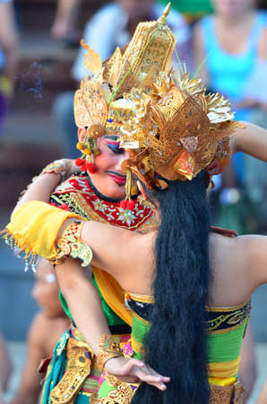 chant: The Kecak Fire Dance at Uluwatu Temple, Bali, Indonesia