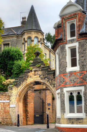 restore: Old architecture in Nottingham, England