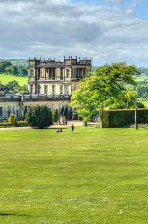 chatsworth: Chatsworth House, Derbyshire, Britain Editorial
