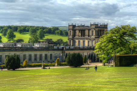 Chatsworth House, Derbyshire, Britain Editorial