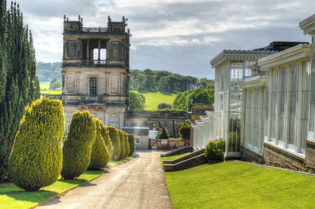 Chatsworth House, Derbyshire, Britain Editorial