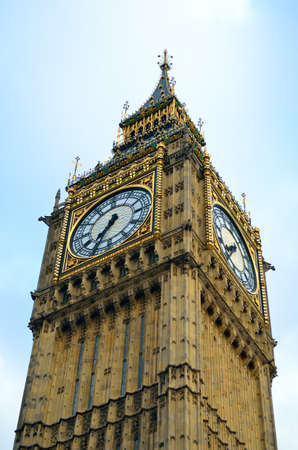 Big Ben and Houses of Parliament, London, UK Editorial