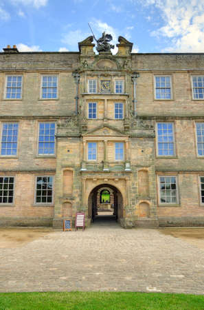 Mansion manor house at lyme park in stockport, UK