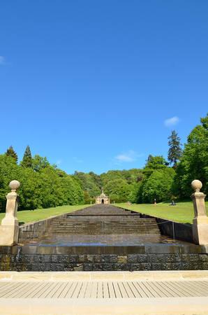 Chatsworth House, Derbyshire, Britain Stock Photo