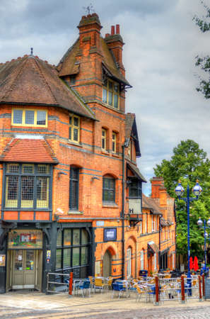 Old architecture in Nottingham, England Stock Photo - 84693311