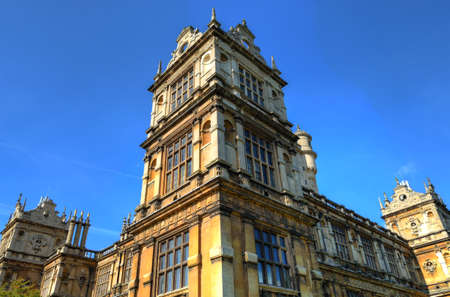 Wollaton Hall and Park Nottingham Nottingham, UK, England Stock Photo