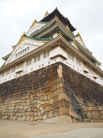 osaka castle: Osaka castle is one of Japans most famous landmark