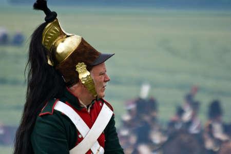 cavalryman: WATERLOO (B�lgica), el 21 de junio de 2009 - los entusiastas de la historia de 24 pa�ses participan en la representaci�n de la batalla de Waterloo que, en 1815, termin� el sue�o imperial de Napole�n. Jinete