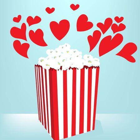 popcorn love box