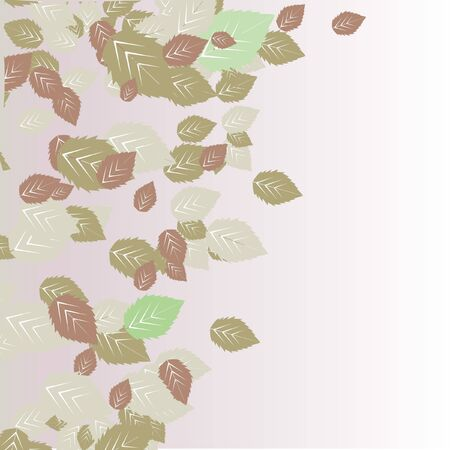 autumn leaves background Stock Vector - 10838185