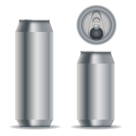 aluminum packaging for beverages Stock Vector - 10838509
