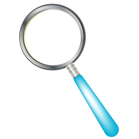 magnifying glass tool Stock Vector - 10838415