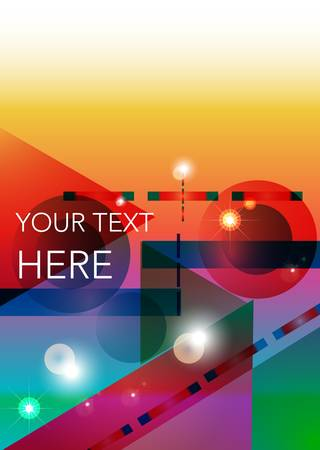 multiply: abstract art background Illustration