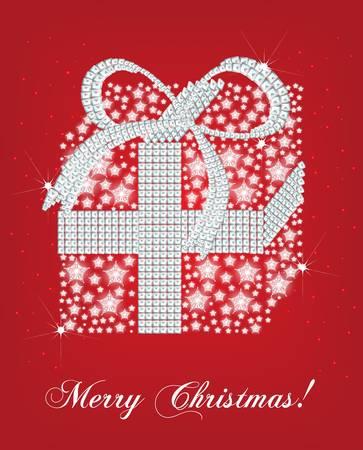 christmas snow globe: christmas gift card