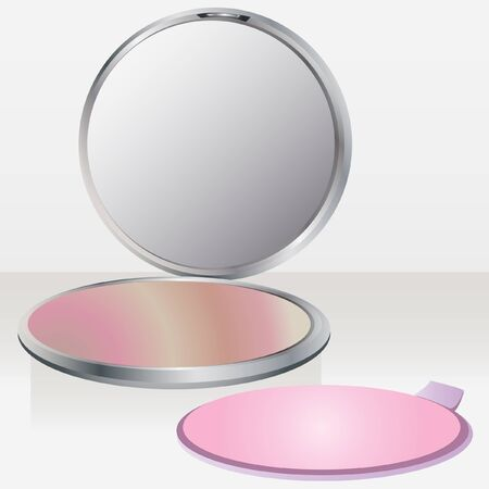 blush: beauty blush with mirror