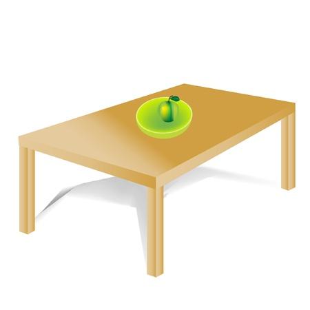 tabulka: Apartament stůl