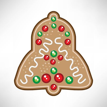 christmas bell: christmas bell cookie