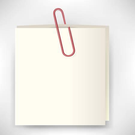 attach: stickie nota con clip