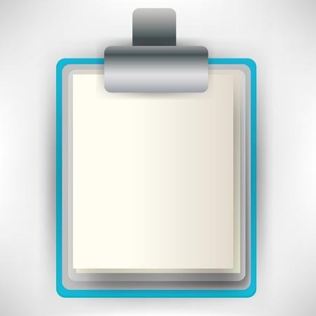 clip board icon Stock Vector - 10852266