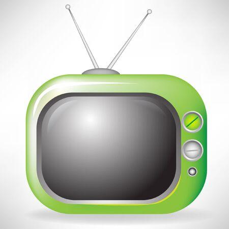 retro television Stock Vector - 10852061