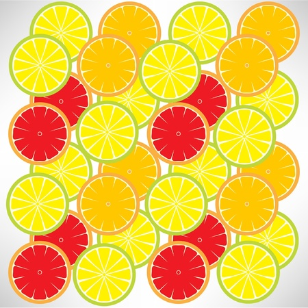 citric background Vector