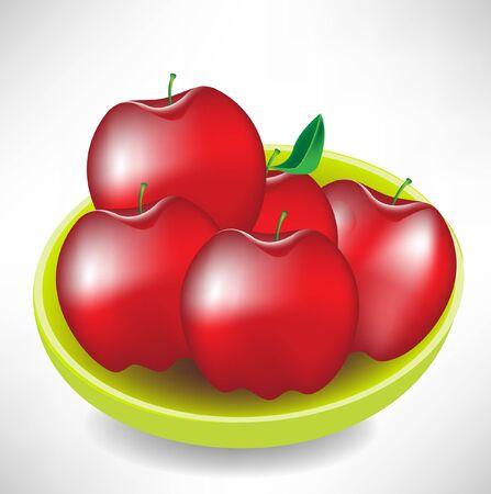 appels in een kom