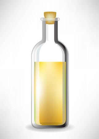 salad dressing: glass with liquid