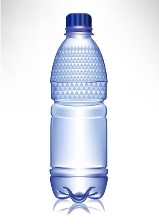 renat: små plast glas vatten med lock och modell