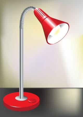 lamp and spotlight indoor Stock Vector - 10851579