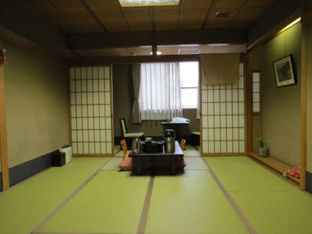 lodgings: Room in a traditional Japanese lodgings Editorial