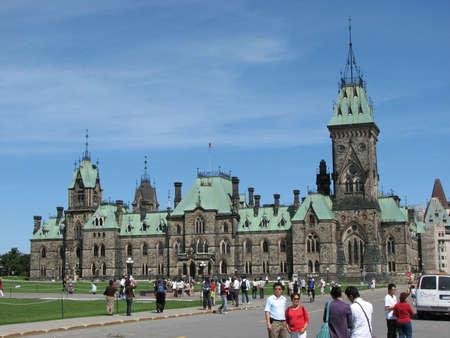 Canadees Parlementsgebouw in Ottawa, Canada